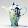 Franz Collection 'Van Gogh - Iris Flower' FZ202567 Sculptured Pot