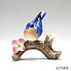 Franz Collection 'Bluebird (Animal & Flower)' FZ02583 Sculptured Vase H13.5cm