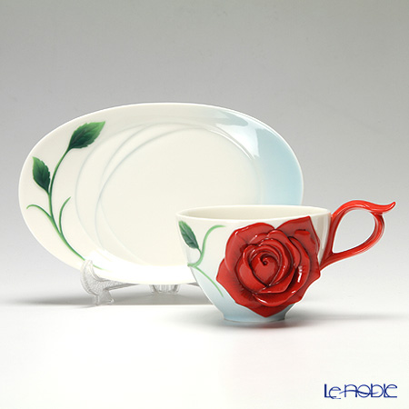 Elegant ... Franz Collection Romance Of The Rose Cup/saucer/spoon Set FZ02644 ... Ideas