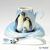 Franz Collection 'Playful Penguins (Animal)' FZ02118 Sculptured Cup & Saucer with Spoon