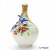 Franz Collection 'Cerulean Warblers (Bird Animal)' FZ02877 Sculptured Vase H31.5cm