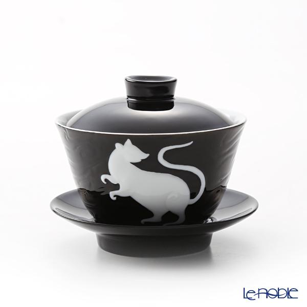 フランツ・コレクション 干支カップ 子/ネズミ(ブラック) JB00906