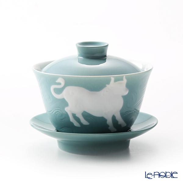 フランツ・コレクション 干支カップ 丑/牛(ブルーグリーン) JB00907