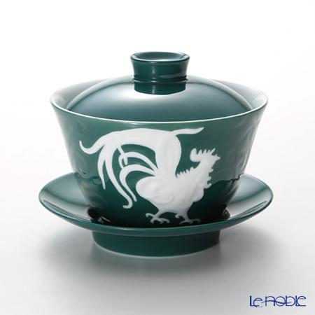 フランツ・コレクション 干支カップ鶏(グリーン) JB00915