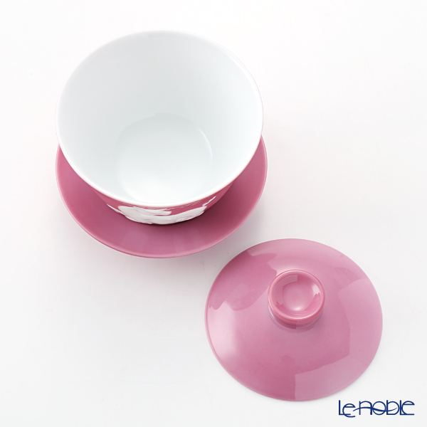 Franz Collection 'Zodiac - Pig / Boar' Pink JB00917 Covered Oriental Cup & Saucer