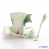 Franz Collection 'Four Seasons - Bamboo' FZ02923 Sculptured Cup & Saucer with Spoon