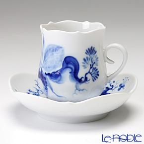 マイセン(Meissen) ブルーオーキッド 824001/23581 モカカップ&ソーサー
