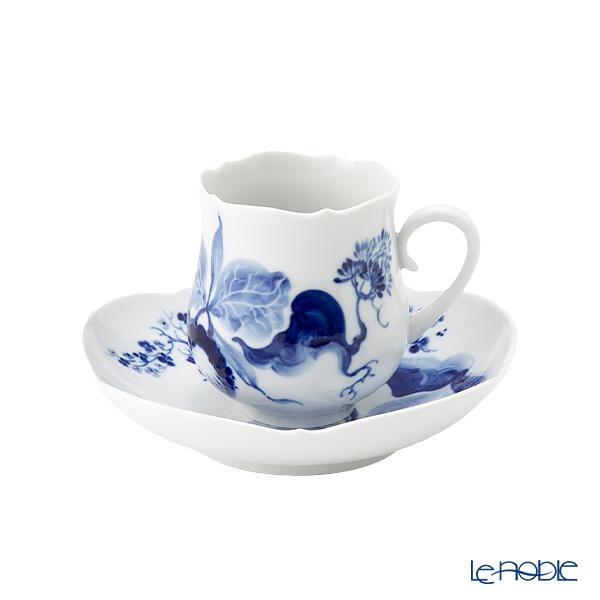 マイセン(Meissen) ブルーオーキッド 824001/23582 コーヒーカップ&ソーサー 150cc