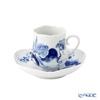 マイセン(Meissen) ブルーオーキッド 824001/23582コーヒーカップ&ソーサー 150cc