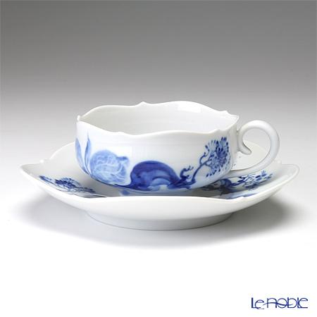マイセン(Meissen) ブルーオーキッド 824001/23633 ティーカップ&ソーサー 150cc