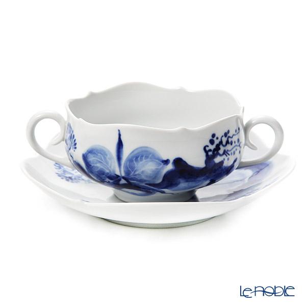 マイセン(Meissen) ブルーオーキッド 824001/23655 スープカップ&ソーサー