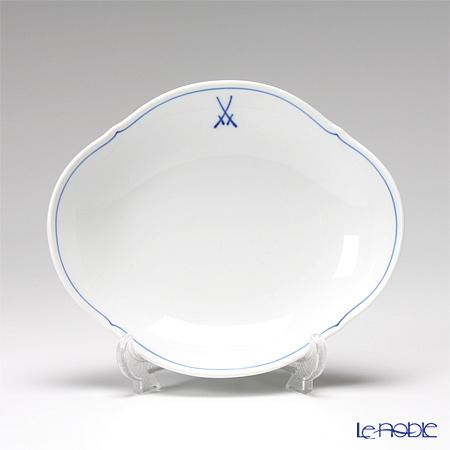 Meissen 'White Meissen (VIP)' 825009/23284 Hors d'oeuvre Oval Dish 16x14cm