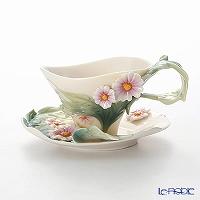 Franz Collection 'Daisy (Flower)' FZ00772 Sculptured Cup & Saucer (S)
