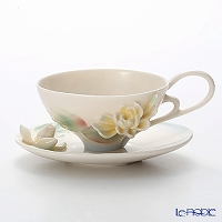 Franz Collection 'Water Lily' FZ00774 Sculptured Cup & Saucer