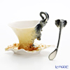 Franz collection elephant Cup & Saucer with a spoon FZ00448