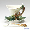 Franz Collection 'Endless Beauty Giraffe (Animal)' FZ00450 Sculptured Cup & Saucer with Spoon