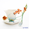 Franz collection by the sea Cup & Saucer with a spoon FZ01137