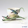 Franz Collection 'Bamboo Song Bird' FZ00570 Sculptured Cup & Saucer with Spoon
