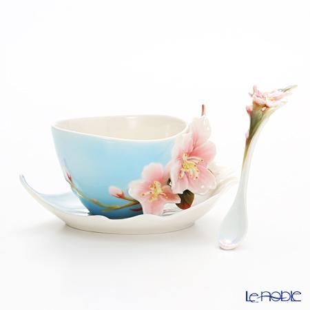 フランツ・コレクション チェリーブラッサム カップ&ソーサー スプーン付 FZ01366