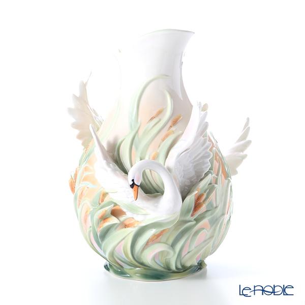 Franz Collection 'Swan Lake (Bird Animal)' FZ01552 Vase H40.5cm