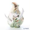 Franz Collection 'Swan Lake (Bird Animal)' FZ01552 Sculptured Vase H40.5cm