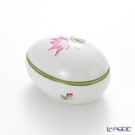 Augarten 'Wiener (Viennese) Flower' Cyclamen Lying Egg Box H5cm