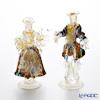 Rose Lynn figurine pair Small H21cm 0018 / 17-M mosaic variegated