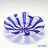 Ballarin 'Cobalt Blue x White Lace' #4016 Rim Plate 17cm
