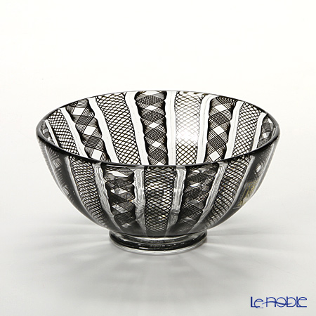 Rose Lynn Bowl with Black Lace #4047/P