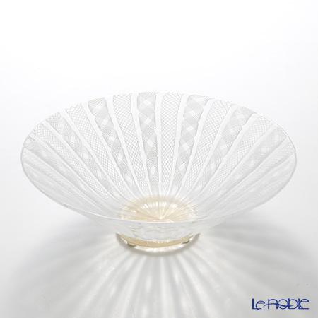 バラリン 菓子鉢 ラウンド 22×H7cm ホワイト