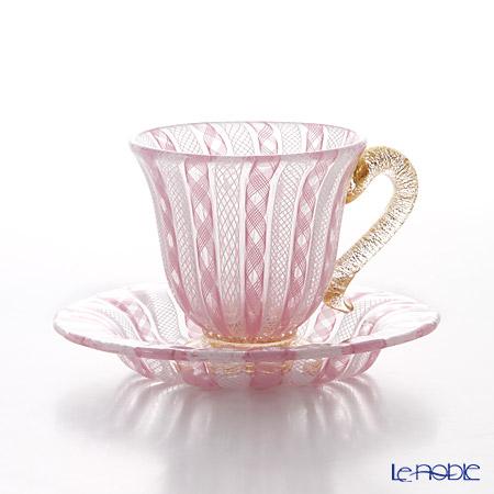 バラリン カップ&ソーサー #4094 ピンク