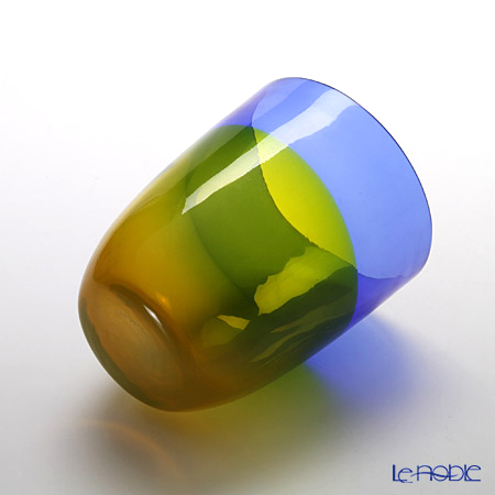 Nasonmoretti Orizzonti Tumbler, cobalt/yellow B2LB2G12