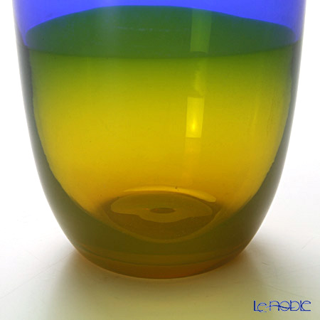 Nason Moretti 'Horizonte' Cobalt Blue & Yellow B2LB2G12 Tumbler 390ml