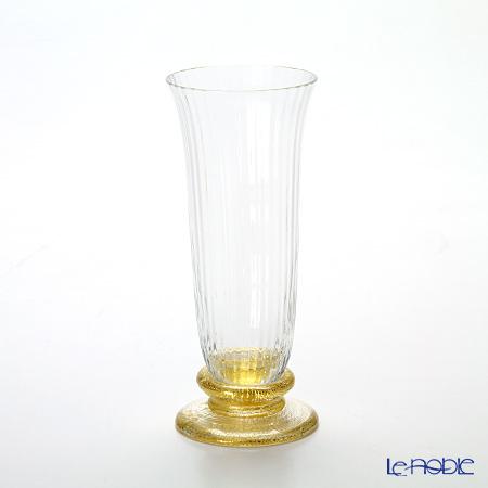Nason Moretti 'Dogale' Gold foil Champagne Flute 160ml