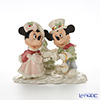 Lenox 'Disney - Mickey Mouse & Minnie Mouse's Holiday Carols (Christmas)' 3LNL789-025 [Limited Edition 2008] Figurine H16cm