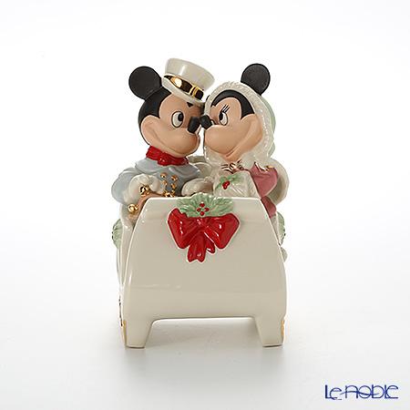 Lenox 'Disney - Mickey Mouse & Minnie Mouse / Mickey's Winter Wonderland (Christmas, Sleigh)' 3LNL789-102 Figurine H17cm