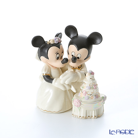 Lenox 'Disney - Mickey Mouse & Minnie Mouse / Minnie's Dream Wedding Cake' 3LNL790-432 Figurine H13cm