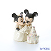 Lenox 'Disney - Mickey Mouse & Minnie Mouse / Minnie's Dream Wedding Cake' 3LNL790-432 Figurine H13cm