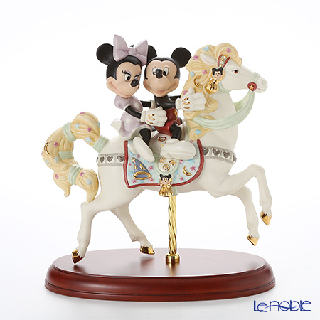 Lenox Mickey and Minnie Dating Mickey's Carousel Romance 3LNL802-737 [Limited Edition of 2,500 pieces]