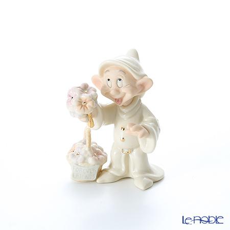 Lenox 'Disney - Dopey's Gift of Friendship (Flower Bouquet / Snow White and the Seven Dwarfs)' 3LNL802-885 Figurine H9.5cm