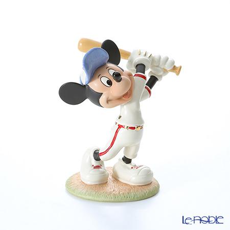 レノックス ディズニーフィギュリン ミッキー&フレンズ ベースボール ミッキー 3LNL812-888