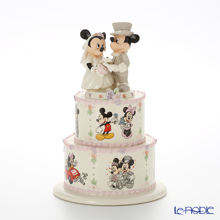 Lenox Mickey and Minnie's Dream Wedding Minnie's Wedding Day Wishes 3LNL818-507