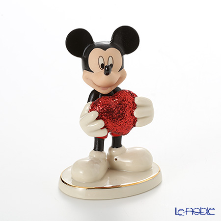 Lenox Mickey and Minnie Dating Love Struck Mickey 3LNL819-195