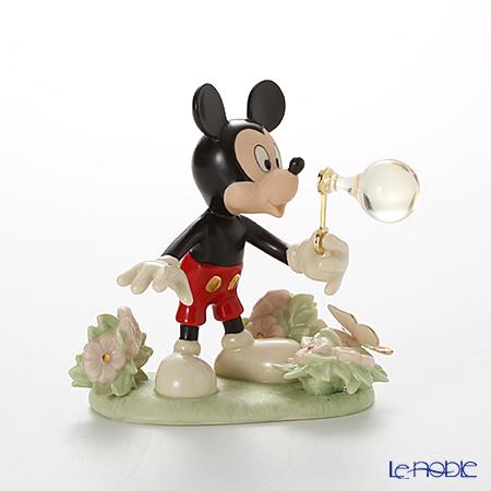 Lenox 'Disney - Mickey Mouse's Backyard Bubbles (Flower & Butterfly)' 3LNL819-200 Figurine H12.5cm