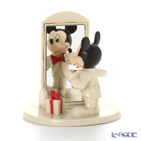 レノックス ディズニーフィギュリン ミッキー&フレンズ ヒアーズ ルッキング アット ユー ミッキー 3LNL819-210