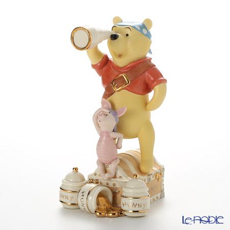 レノックス ディズニーフィギュリン プーさん プー&ピグレット パイレット 3LNL820-464
