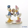 Lenox 'Disney - Donald Duck & Daisy Duck Together Forever (Flower Bouquet)' 3LNL827-461 Figurine H10cm