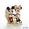 Lenox 'Disney - Mickey Mouse & Minnie Mouse's Fun in the Sun (Beach, Surfboard)' 3LNL830-094 Figurine H15cm
