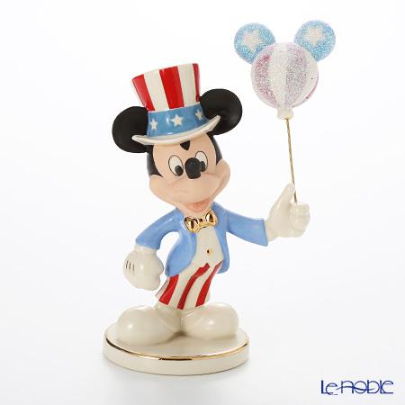 レノックス ディズニーフィギュリン ミッキー&フレンズ アメリカンミッキー 3LNL831-695
