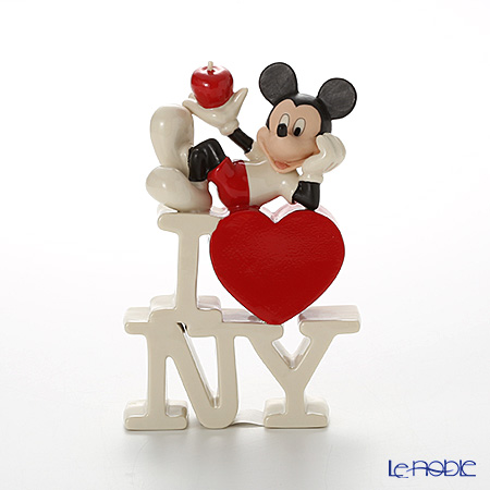 Lenox 'Disney - Mickey Mouse in the Big Apple (Heart, I Love New York) 3LNL831-697 Figurine H16cm